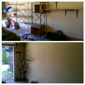 before & after of the garage preview