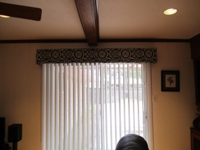 new blinds & valance