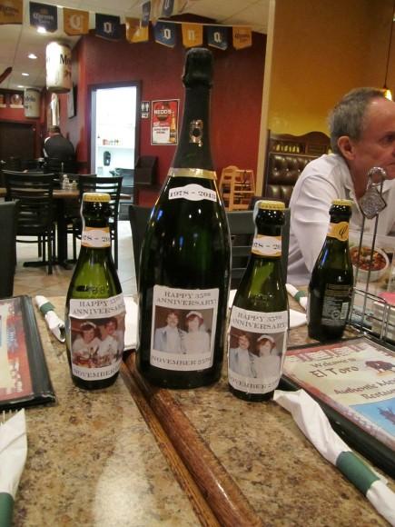 35th Anniversary Champagne