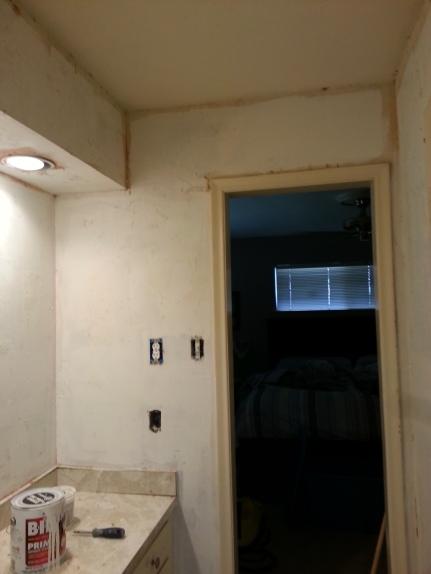 """""""skimmed"""" walls"""