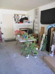 prepping in my garage